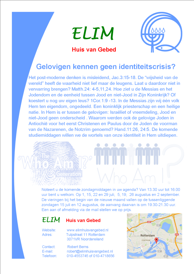 Elim RotterdamZomerprogramma 2018