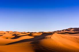 woestijn stilte